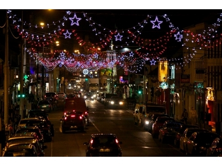 Street Access Restrictions - Tullamore Christmas Lights 2018