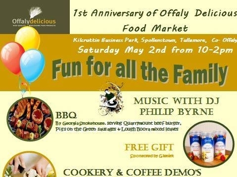 Offaly Delicious Food Market 1st Anniversary