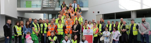 Team Tullamore ~ Annual Spring Clean Up